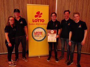 Jugendgruppe gewinnt Sportjugendförderpreis