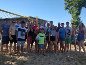 Beachvolleyballturnier der Jugendgruppe