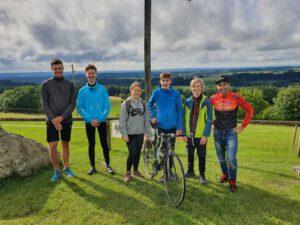 Jugendgruppe belegt dritten Platz bei #cyclingagainstcorona